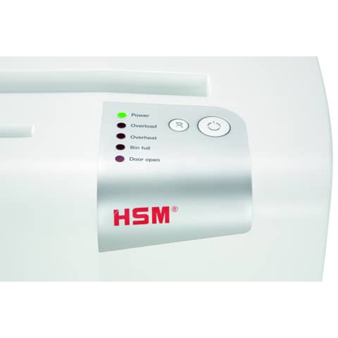 Aktenvernichter Shredstar X13 weiß HSM 1057121 4x37mm Produktbild Detaildarstellung 1 XL