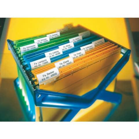 Beschriftungsschilder 60x21mm ws LEITZ 19000001 PG975ST Produktbild Anwendungsdarstellung XL
