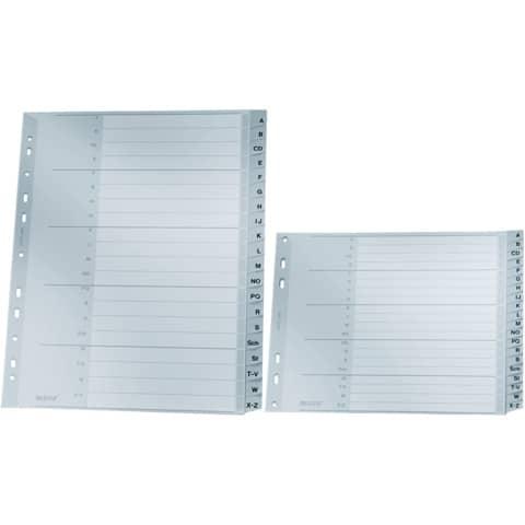 Register A4 A-Z grau 20tlg. LEITZ 12620000 Plastik überbr. Produktbild Stammartikelabbildung 2 XL