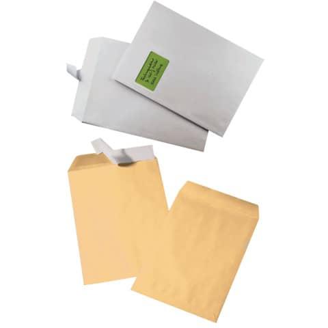 Versandtasche C4 m.Fe haftklebend weiß ELEPA 30005425, 100g, 250 Stück Produktbild Stammartikelabbildung 2 XL