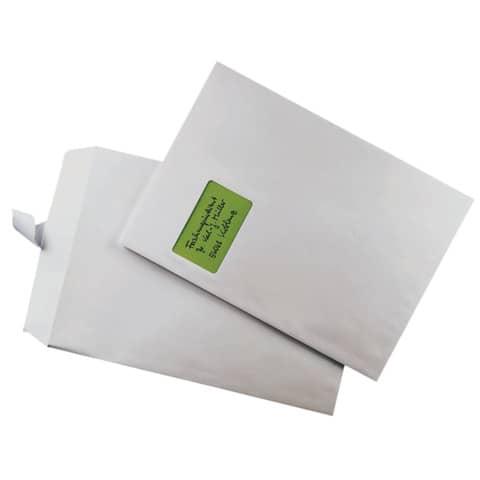 Versandtasche C4 m.Fe haftklebend weiß ELEPA 30005425, 100g, 250 Stück Produktbild Stammartikelabbildung XL