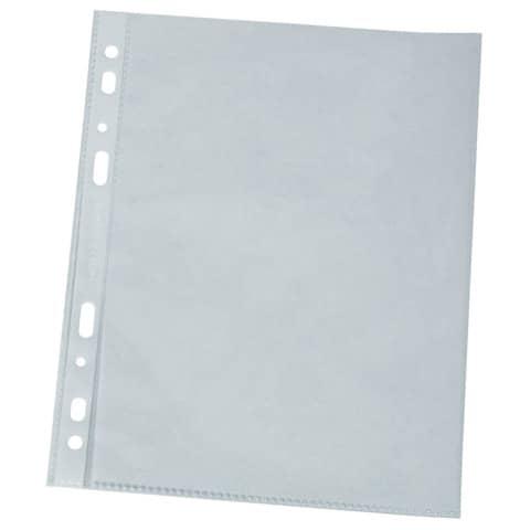 Prospekthülle A4 100 Stück genarbt Q-CONNECT KF00423 0,12mm Produktbild Einzelbild 2 XL