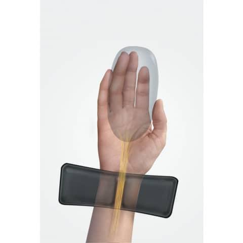 Handgelenkauflage Gel sw FELLOWES 9182301 Produktbild Anwendungsdarstellung XL