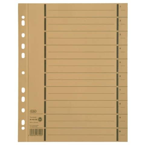 Trennblatt A4 gelb ELBA 400004666 100ST Produktbild