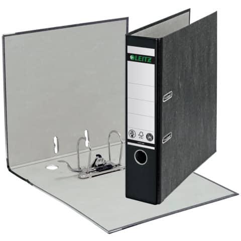 Ordner Pappe A4 8cm schwarz LEITZ 1080-50-95 Produktbild Einzelbild 2 XL