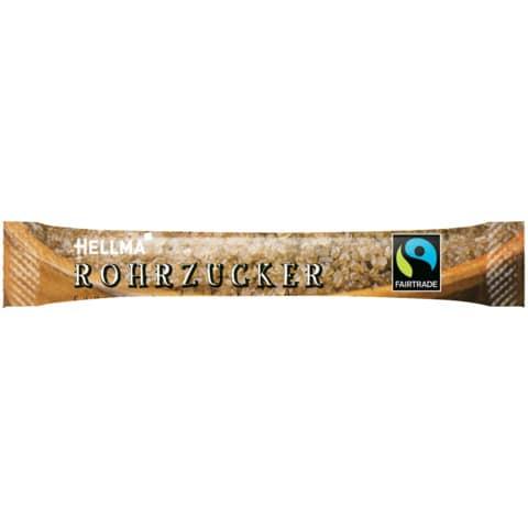 Zuckerstick Fairtrade Rohrzuck HELLMA 60107615 500x4g Produktbild Einzelbild 2 XL
