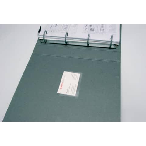 Visitenkartenhülle skl. 100ST Q-CONNECT KF27040 Produktbild
