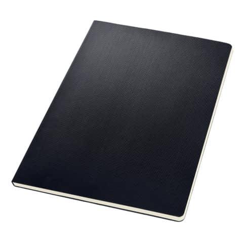 Notizblock ca.A4 kariert schwarz CONCEPTUM CO800 Hardcover Produktbild Einzelbild 2 XL