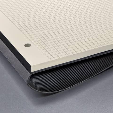 Notizblock ca.A4 kariert schwarz CONCEPTUM CO800 Hardcover Produktbild Detaildarstellung 2 XL