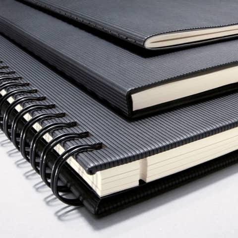 Notizblock ca.A4 kariert schwarz CONCEPTUM CO800 Hardcover Produktbild Stammartikelabbildung XL