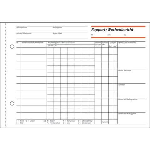 Rapport A5 quer, 100 Blatt SIGEL RP517 Produktbild Detaildarstellung XL