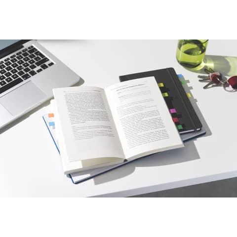 Index 11,9x43,2 3+2 Gratis sort POST-IT 683-5CB Promo IndexFolie Produktbild Anwendungsdarstellung 3 XL