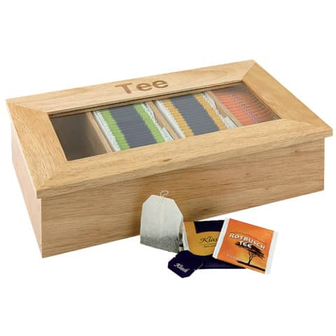 Teeset Teebox holz ESMEYER 400-2354 Produktbild