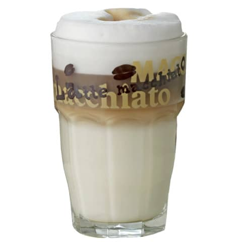 Kaffeeglas Latte Macchiato 410-670/410-631 0,37L 6ST Produktbild