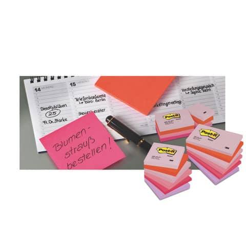 Haftnotizblock 76x76 Dream+En POST-IT 654ENDRP 12 Stück Promotion Produktbild Anwendungsdarstellung 1 XL