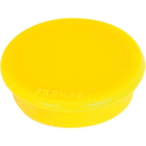 Magnet D24mm gelb FRANKEN HM20 04 10ST Produktbild