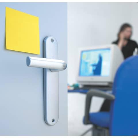 Haftnotizblock 76x76mm Ultrafarben POST-IT 654-12SSU 90Bl 12St Produktbild Anwendungsdarstellung 1 XL