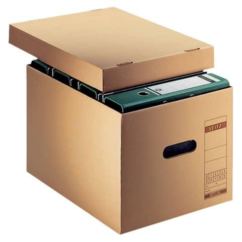 Archivbox Wellpappe braun LEITZ 6081-00-00 Produktbild