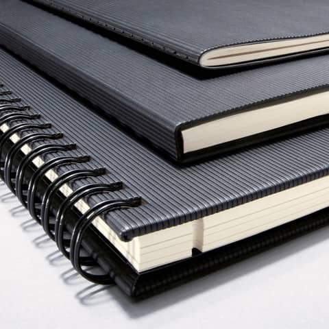 Notizheft ca. A5 kariert schwarz CONCEPTUM CO862 Softcover Produktbild Stammartikelabbildung 3 XL