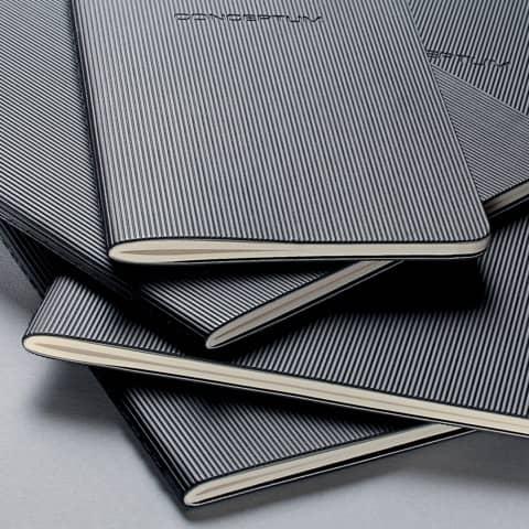 Notizheft ca. A5 kariert schwarz CONCEPTUM CO862 Softcover Produktbild Stammartikelabbildung 2 XL