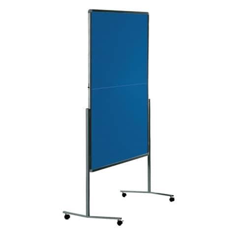 Moderatorentafel Premium blau/grau LEGAMASTER 7-205200 120x150cm Produktbild Einzelbild 5 XL