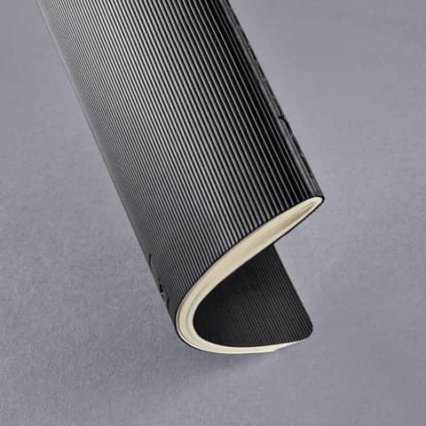 Notizheft ca. A5 kariert schwarz CONCEPTUM CO862 Softcover Produktbild Detaildarstellung 2 XL