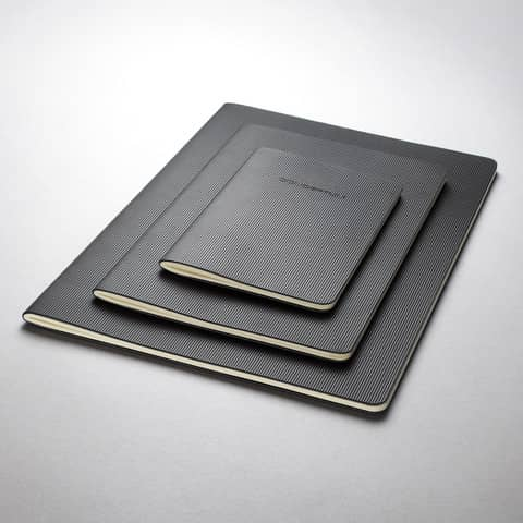 Notizheft ca. A5 kariert schwarz CONCEPTUM CO862 Softcover Produktbild Stammartikelabbildung XL