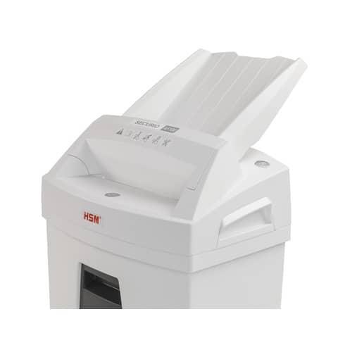 Aktenvernichter AF100 Autofeed ws/sw HSM 2063111 4x25mm Partikel Produktbild Detaildarstellung XL