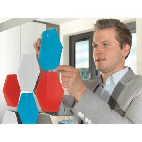Klebestrips Tack 72ST transparent TESA 59408-00000-01 Produktbild Anwendungsdarstellung 4 XL