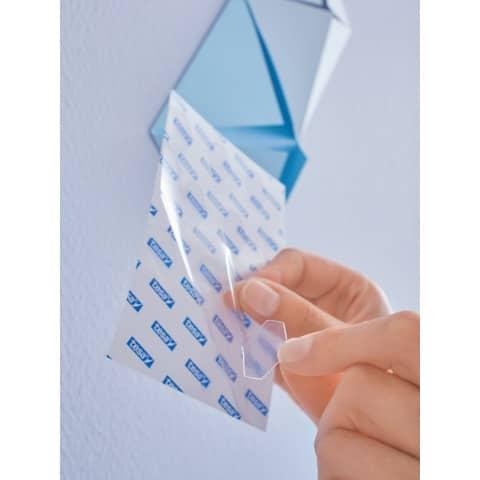 Klebestrips Tack 72ST transparent TESA 59408-00000-01 Produktbild Anwendungsdarstellung 3 XL
