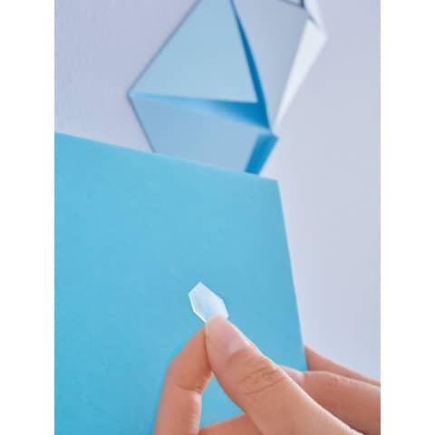 Klebestrips Tack 72ST transparent TESA 59408-00000-01 Produktbild Anwendungsdarstellung 6 XL