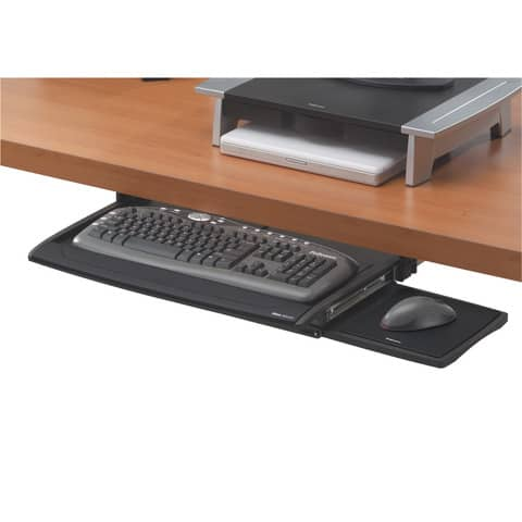 Tastaturschublade mit Mausablage FELLOWES FW8031201 Produktbild Einzelbild 1 XL