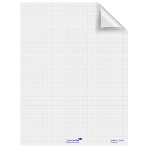 Schreibfolie Filpchart 25BL weiß LEGAMASTER 159000 60x80cm Produktbild Einzelbild 1 XL