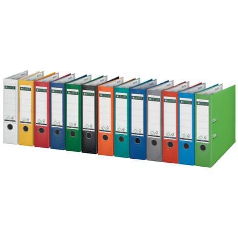 Ordner Plastik A4 8cm weiß LEITZ 1010-50-01 180° Mechanik Produktbild Stammartikelabbildung 2 XL
