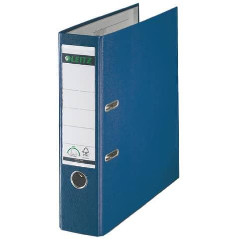 Ordner Plastik A4 8cm blau LEITZ 1010-50-35 180° Mechanik Produktbild