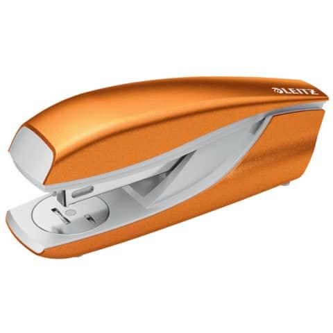 Heftgerät metallic orange LEITZ 5502-10-44 NeXXt Produktbild