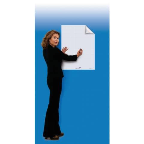 Schreibfolie Filpchart 25BL weiß LEGAMASTER 159000 60x80cm Produktbild Anwendungsdarstellung 1 XL