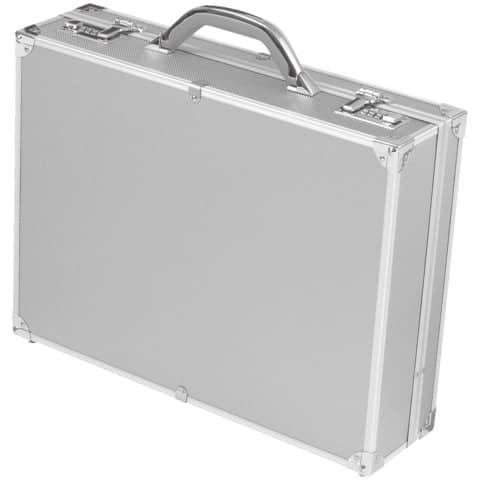 Aktenkoffer Alu Octan silber Alumaxxx 45103 45x34x12/45114 Produktbild Einzelbild 1 XL