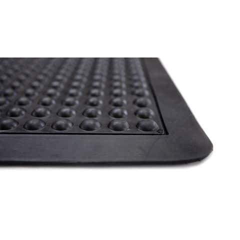 Bodenschutzmatte 60x90cm schwarz ERGONOP EN-6090 mit Noppen Produktbild