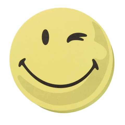 Wertungssymbol D100mm Smily gelb FRANKEN UMZ10S1 positiv 100 Stück Produktbild