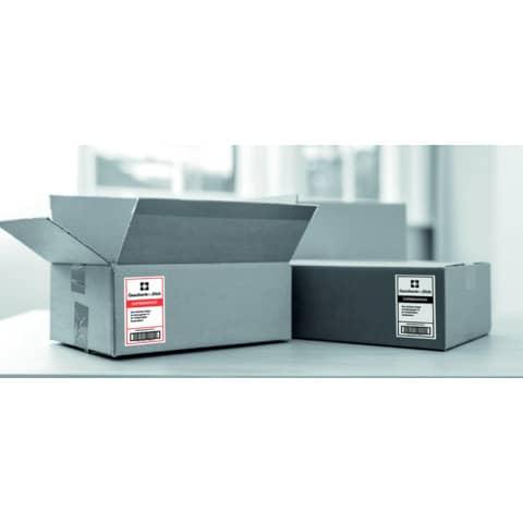 Etikettendrucker schwarz/weiß BROTHER QL810WZG1 Produktbild Anwendungsdarstellung XL