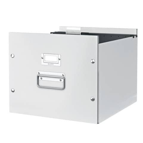 Archivbox Hängereg. weiß LEITZ 6046-00-01 Click&Store Produktbild Anwendungsdarstellung XL