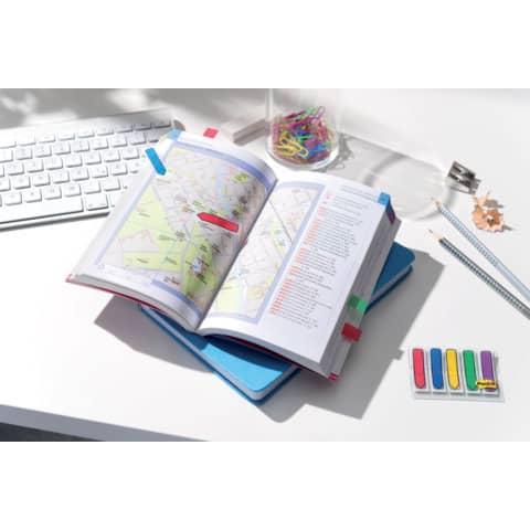 Index Pfeil 12x43 farbig sortiert POST IT 684 ARR1 5x20 Stück Produktbild Produktabbildung aufbereitet XL