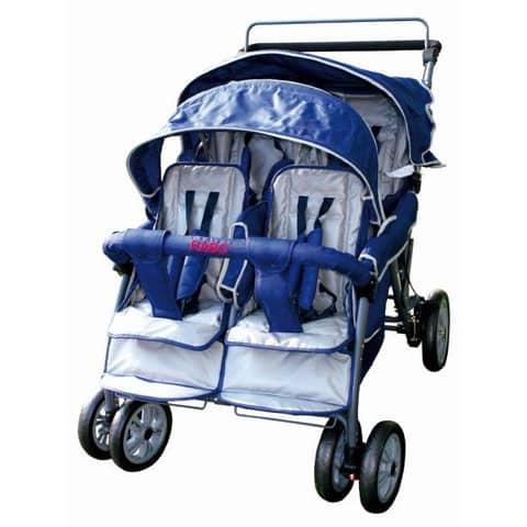 Rabo Kindersportkarre Viersitzer Produktbild