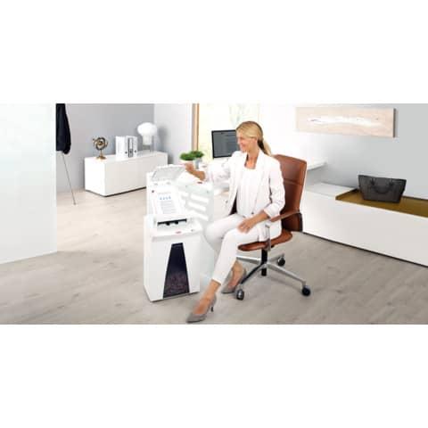 Aktenvernichter Part.AF300weiß HSM 2093111 4,5x30 Produktbild Produktabbildung aufbereitet XL