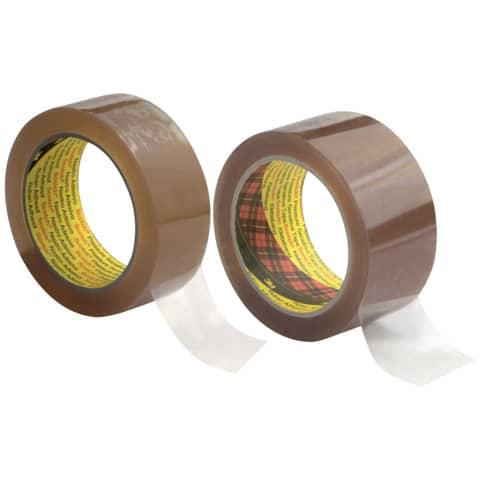 Verpackungsband 38mm 66m transparent SCOTCH 371T3866 PP Produktbild Stammartikelabbildung XL