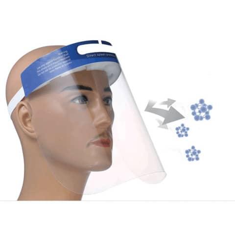 Gesichtsschutzschild  transparent BF004 Höhe 22cm  093176 Produktbild