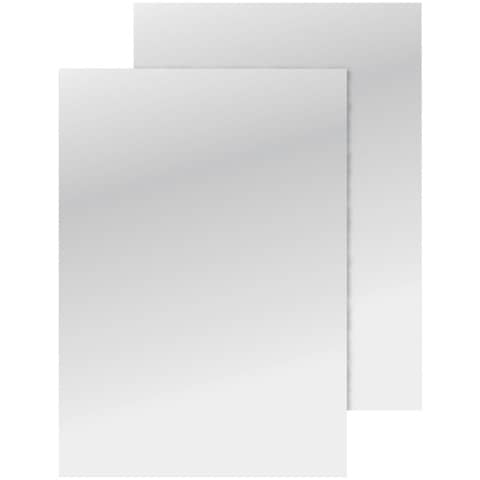 Einbanddeckel glänzend A4 weiß Q-CONNECT KF00498 250g 100ST Produktbild