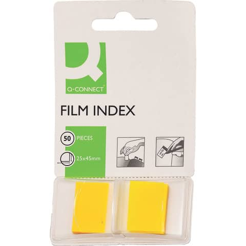 Index  gelb Q-CONNECT KF03634 772850 Produktbild