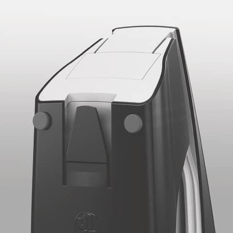 Heftgerät perlweiß LEITZ 5502-10-01 NeXXt Produktbild Anwendungsdarstellung 4 XL